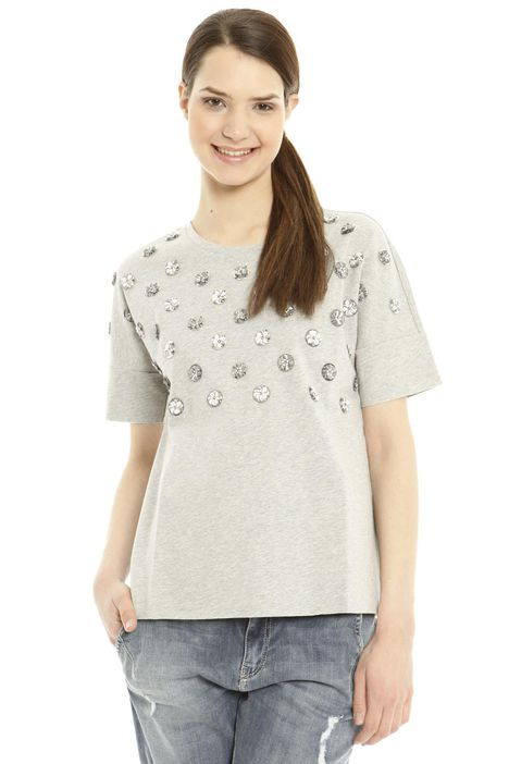 T-shirt con jais Diffusione Tessile