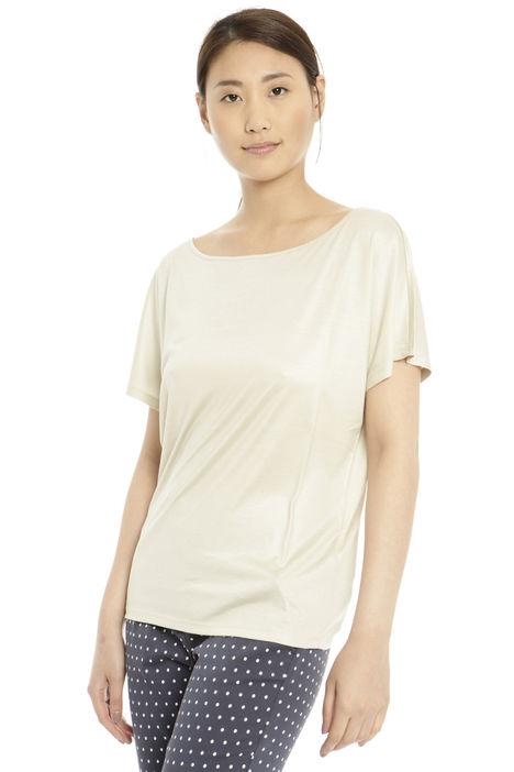 T-shirt in seta Diffusione Tessile