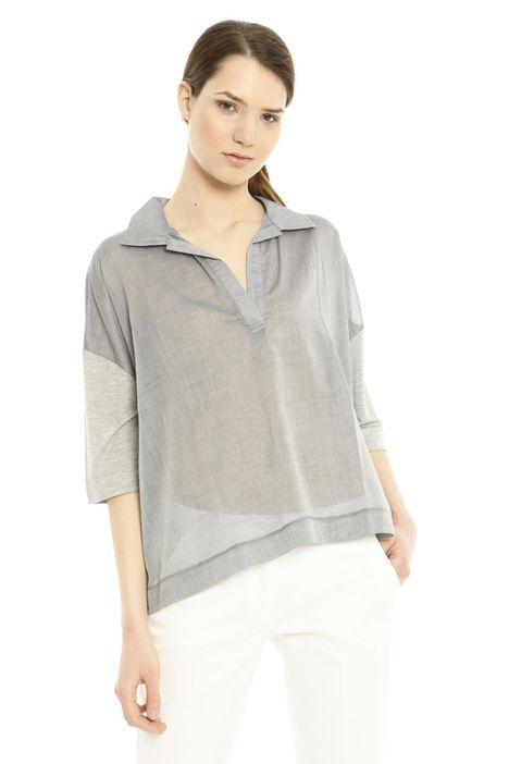 Camicia in tessuto stretch Diffusione Tessile