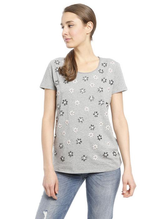 T-shirt con applicazioni Diffusione Tessile
