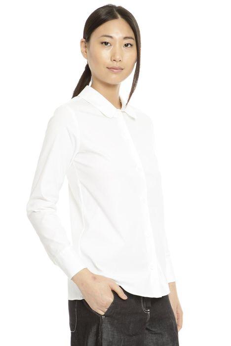 Camicia stretch in cotone