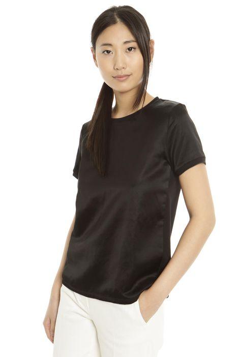 T-shirt in raso di ramié