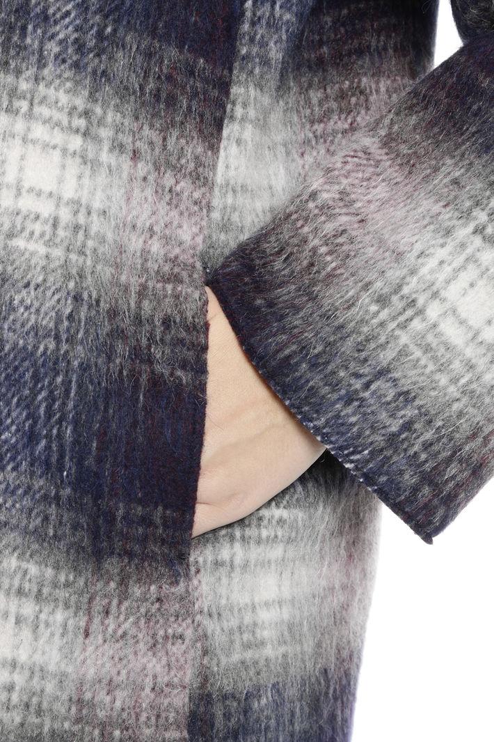 Cappotto in check sfumato Diffusione Tessile