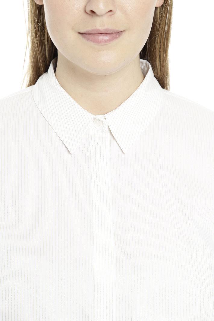 Camicia a motivo rigato lurex Diffusione Tessile