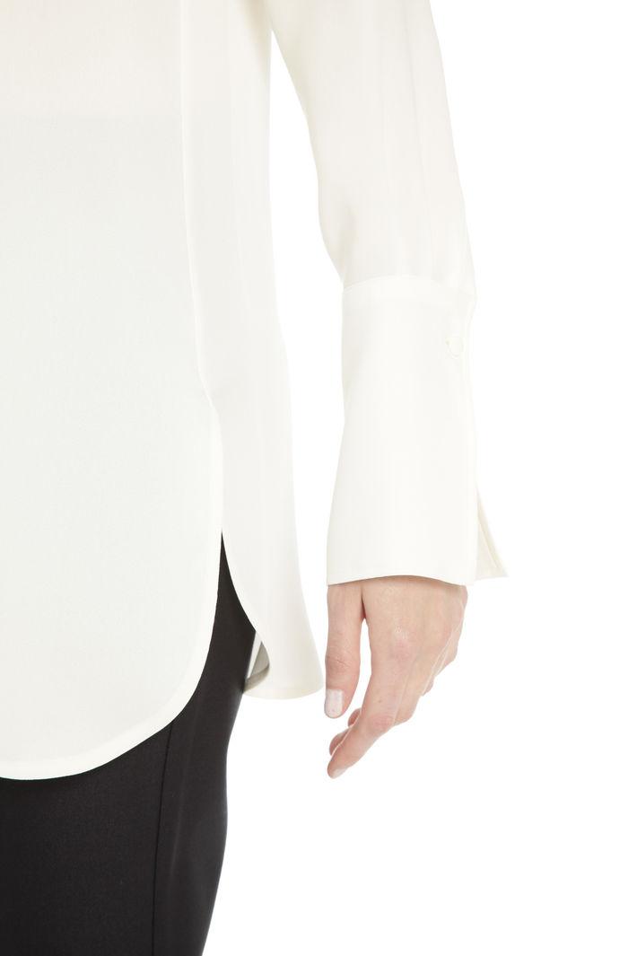 Casacca in georgette di seta Diffusione Tessile