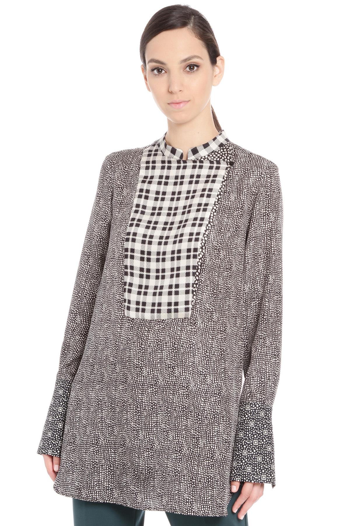 spesso Camicie e Bluse - Colore: Grigio e argento - Diffusione Tessile PH59