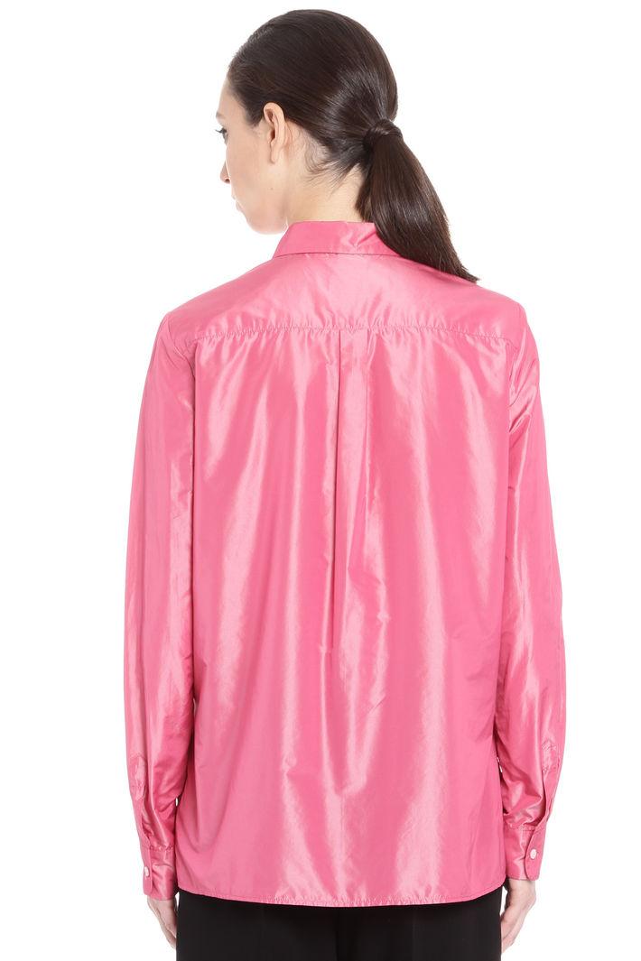 Camicia dritta in taffetas Diffusione Tessile