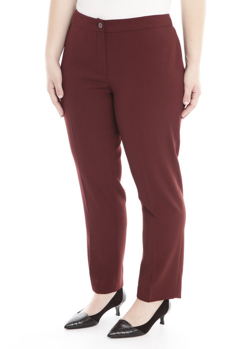 Pantalone slim in crepe Intrend