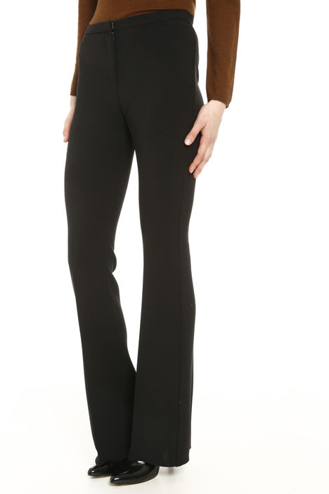 Pantaloni stretch in lana Diffusione Tessile