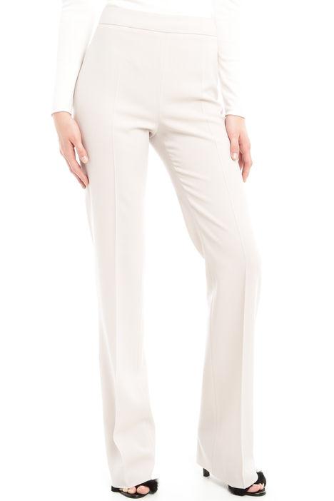 Pantaloni a zampa in lana Diffusione Tessile