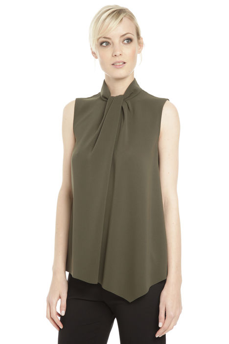 Top in cady di triacetato Diffusione Tessile