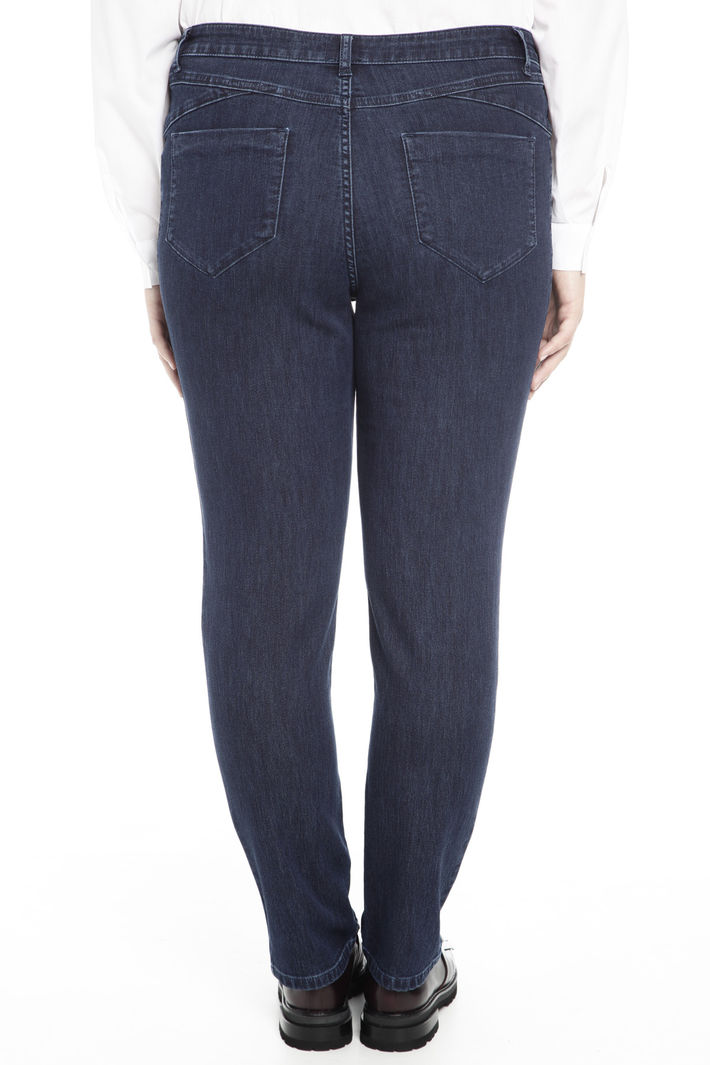 Pantalone skinny in denim Diffusione Tessile