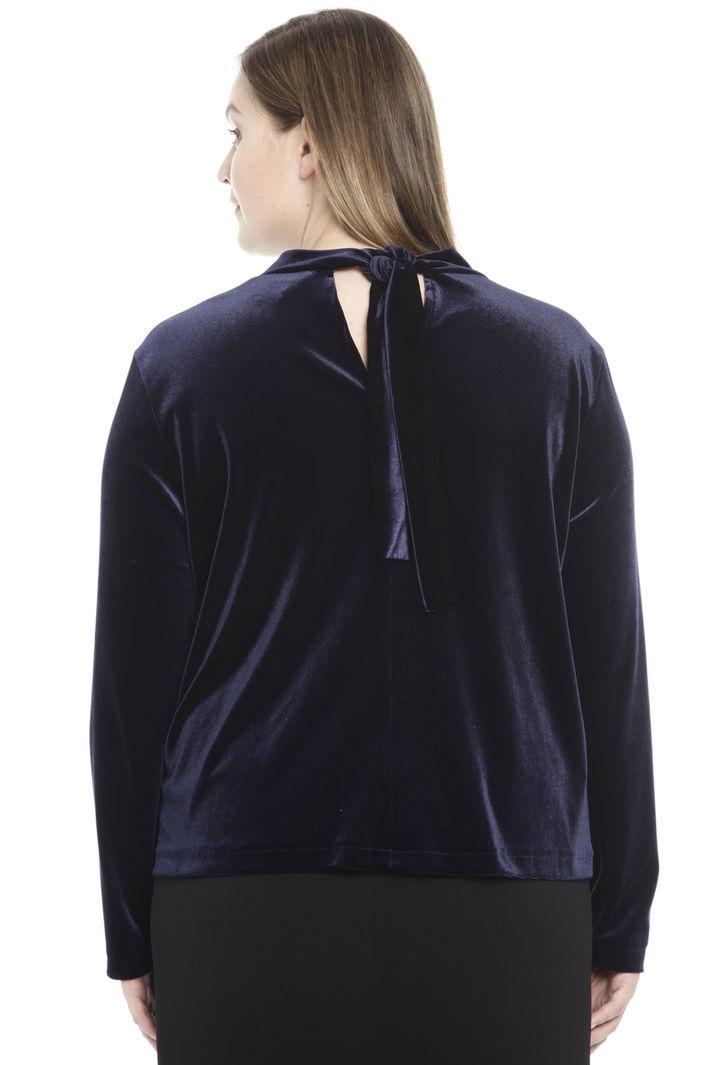 Casacca in jersey di velluto Diffusione Tessile