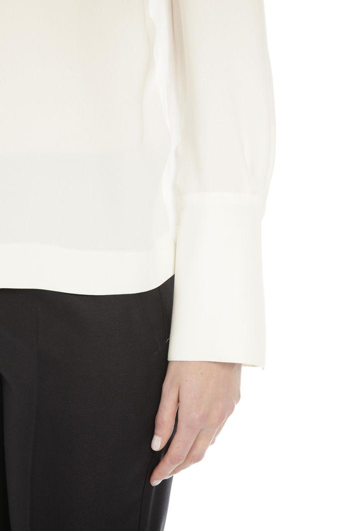 Casacca in jersey e georgette Diffusione Tessile