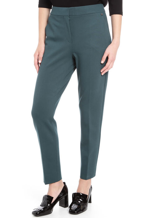 Pantaloni in viscosa stretch Diffusione Tessile