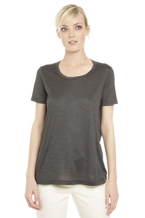 T-shirt in jersey di seta Diffusione Tessile