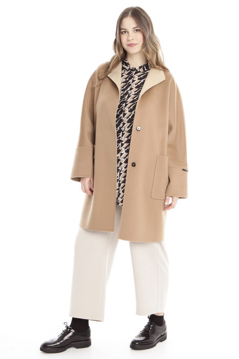 Cappotto double in lana Diffusione Tessile