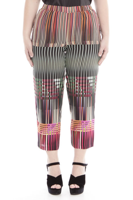 Pantalone cropped fantasia Intrend