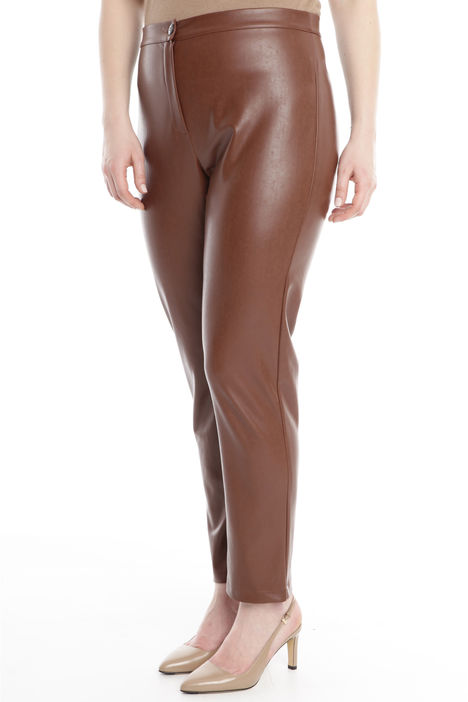 Pantalone skinny in similpelle Diffusione Tessile