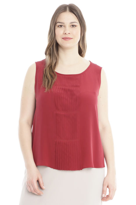 Top in crepe de chine Intrend