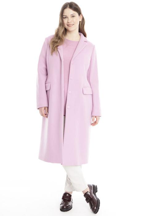 Cappotto in cashmere e lana Diffusione Tessile