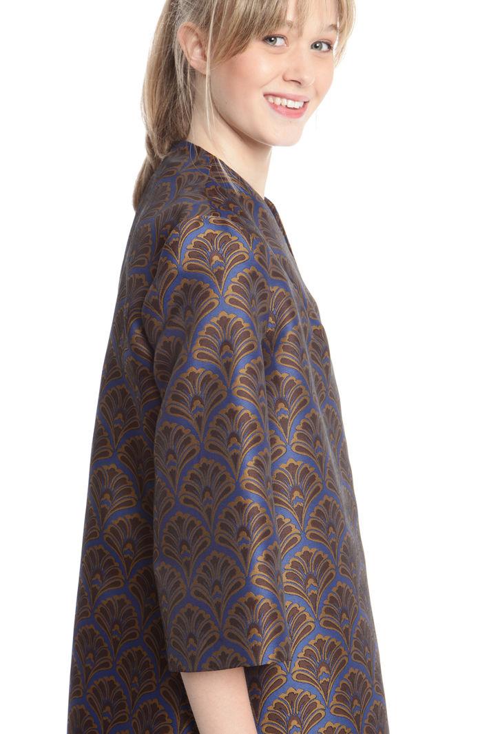 Spolverino in tessuto jacquard Fashion Market