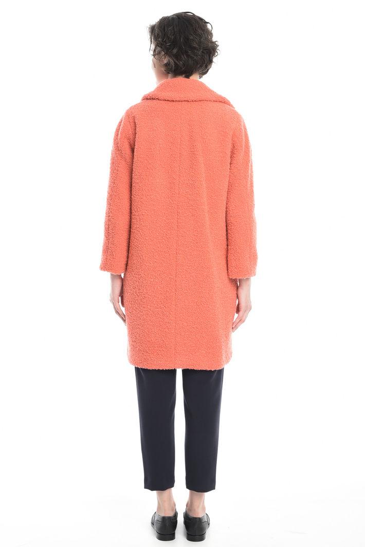 Cappotto in lana bouclè Diffusione Tessile