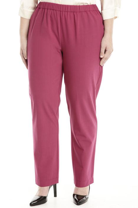 Pantalone in lana tecnica Diffusione Tessile