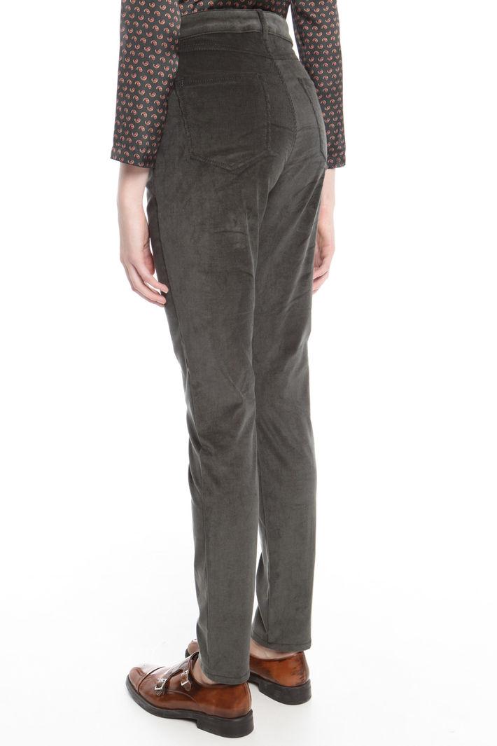 Pantalone in velluto stretch Fashion Market