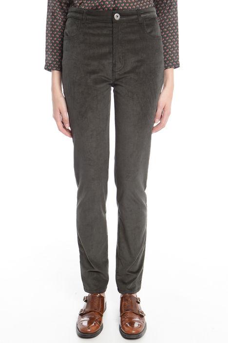 Pantalone in velluto stretch Diffusione Tessile