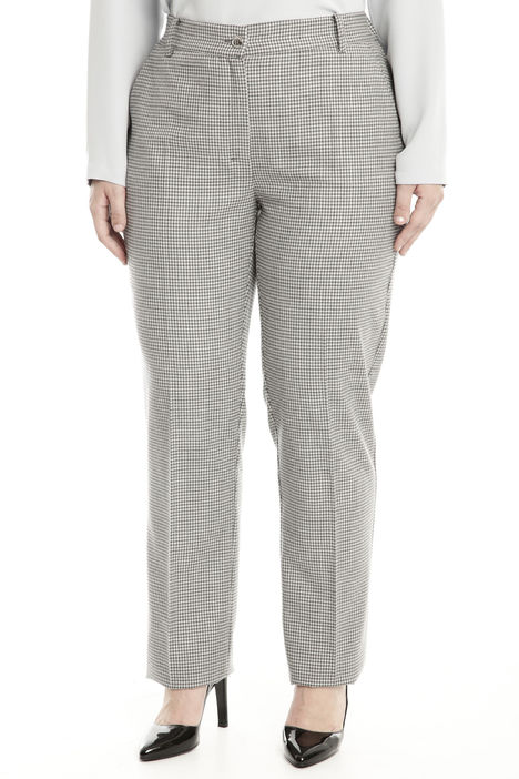 Pantalone in flanella stretch Intrend