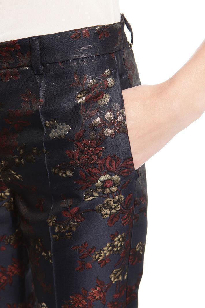 Pantalone in jacquard lurex Fashion Market