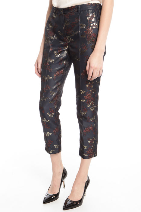 Pantalone in jacquard lurex Diffusione Tessile