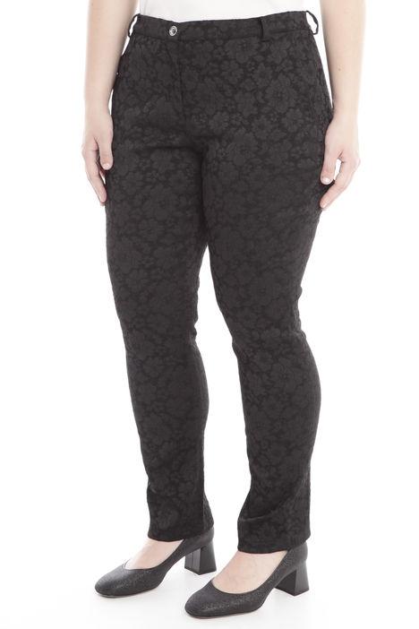 Pantaloni in jacquard stretch Diffusione Tessile