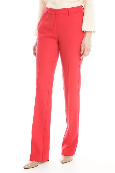 Pantaloni in doppio di lana Diffusione Tessile