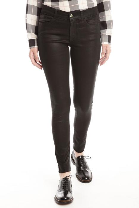 Pantaloni aderenti in drill Diffusione Tessile
