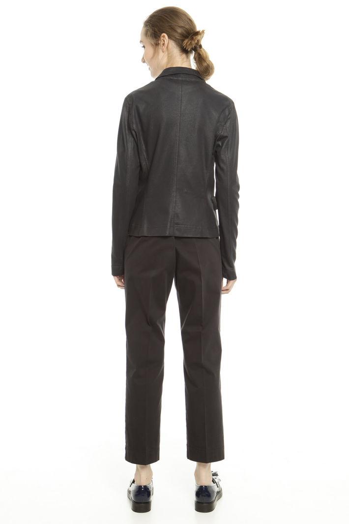 Blazer in jersey spalmato Diffusione Tessile