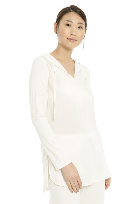 T-shirt con cappuccio Diffusione Tessile