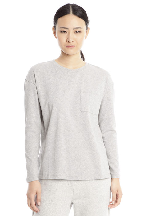 T-shirt con taschino Diffusione Tessile