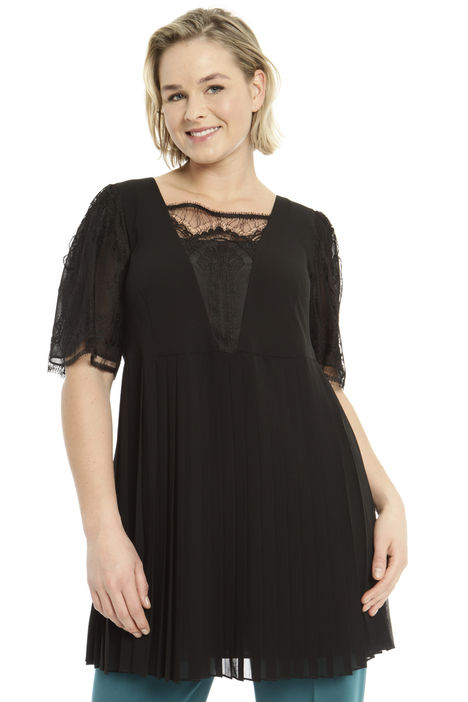 Top con inserti in pizzo Intrend