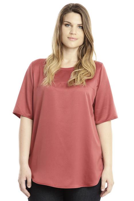 T-shirt in raso Diffusione Tessile