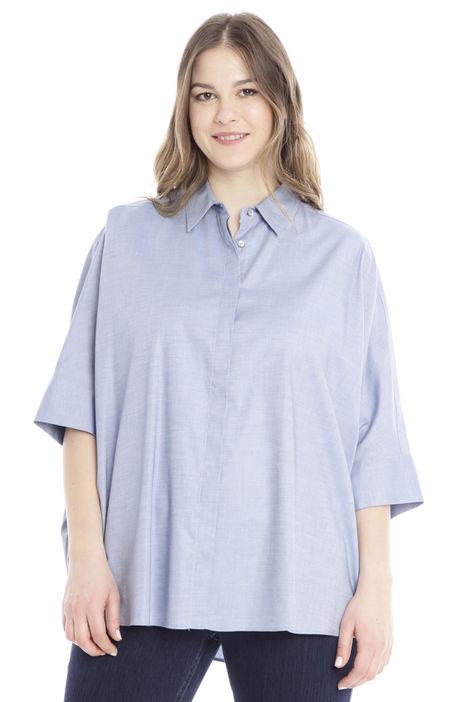 Camicia over in chambray Diffusione Tessile