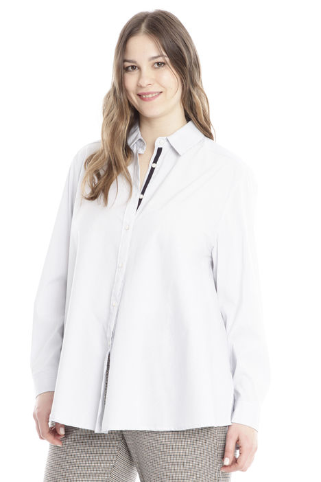 Camicia svasata in cotone Diffusione Tessile