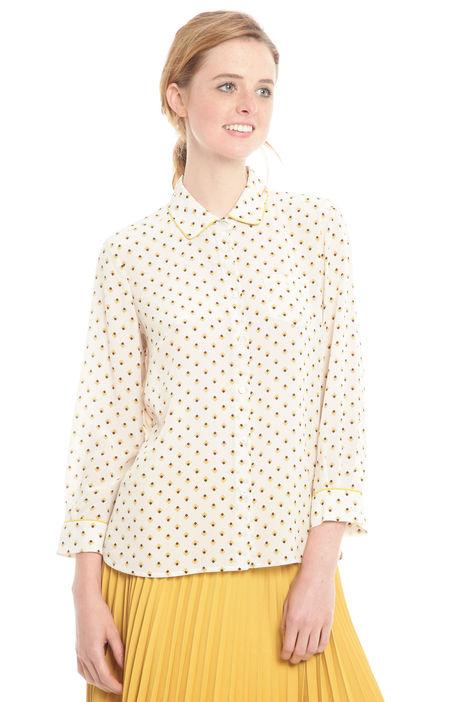 Camicia in seta stampata Diffusione Tessile