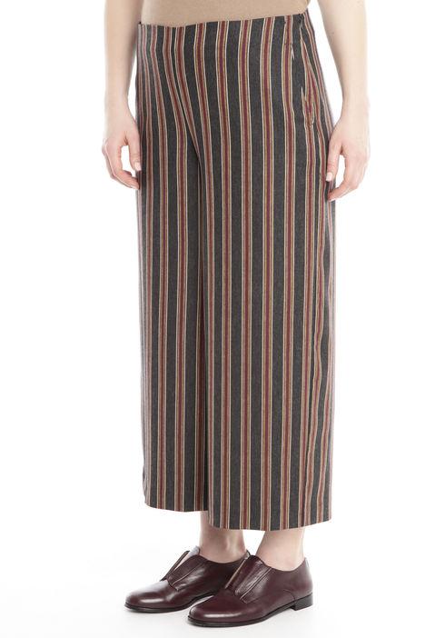 Pantalone cropped a fantasia Diffusione Tessile