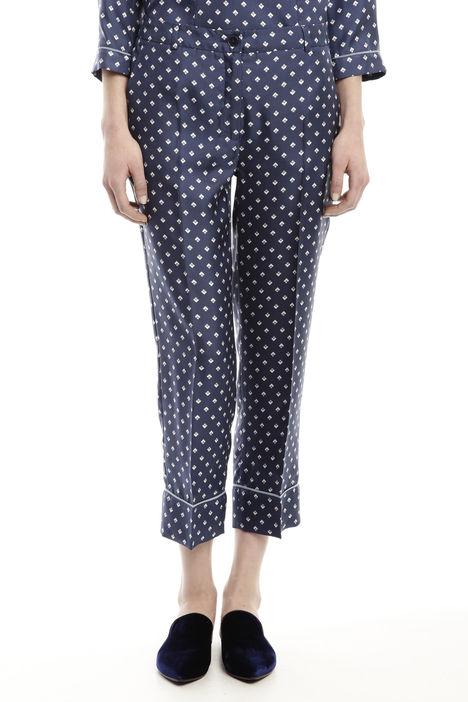 Pantaloni in seta Diffusione Tessile