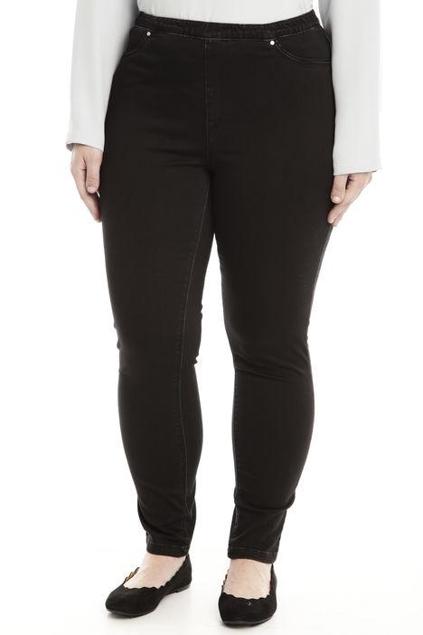 Pantalone in raso denim Diffusione Tessile