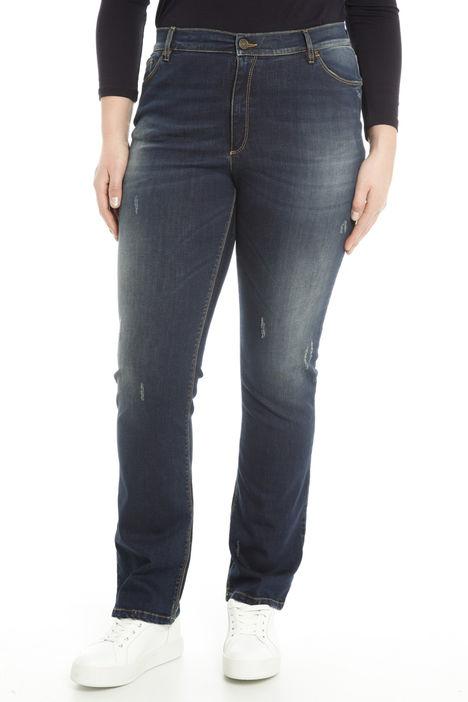 Jeans con strappi Diffusione Tessile