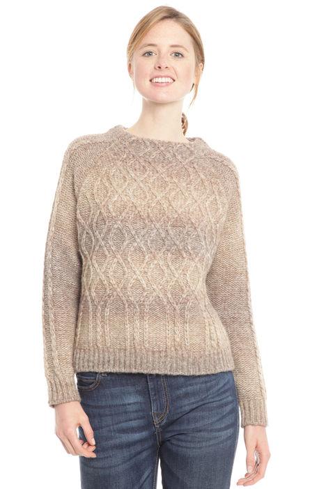 Pullover sfumato in lana Diffusione Tessile