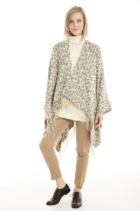 Poncho animalier Intrend